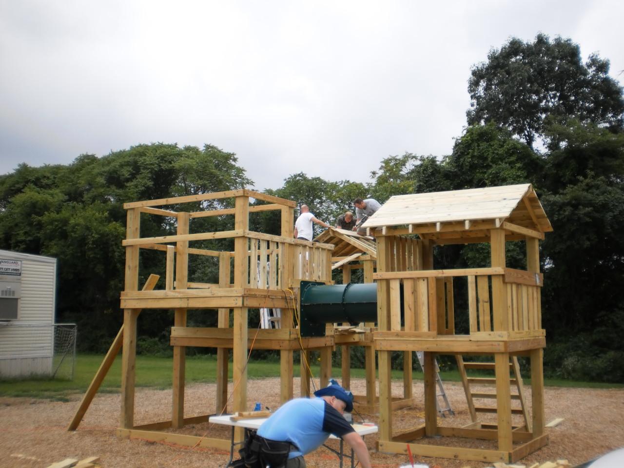 Building the playground
